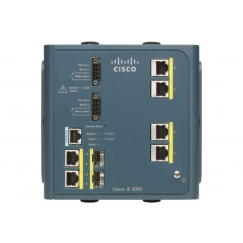 Коммутатор Cisco IE-3000-4TC IE 3000 Switch, 4 10/100 + 2 T/SFP